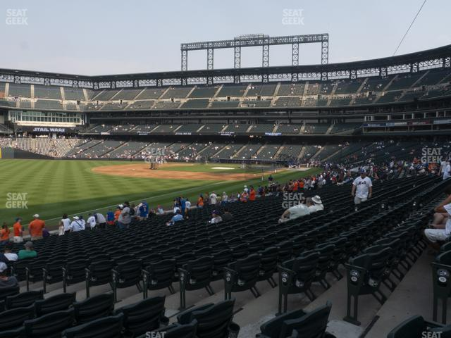 Coors Field Section 147 view