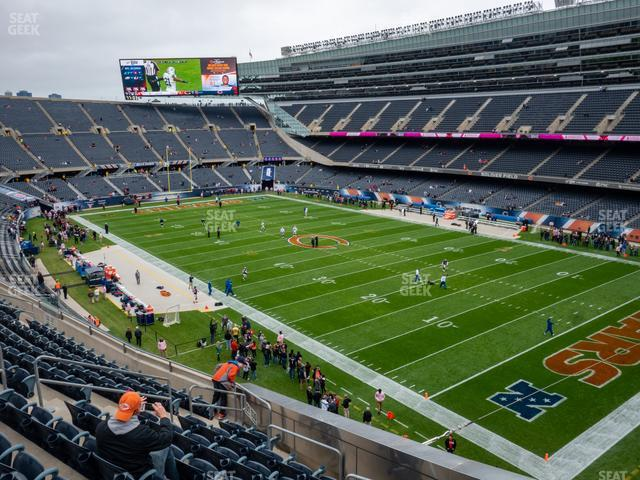 Soldier Field Section 330 view