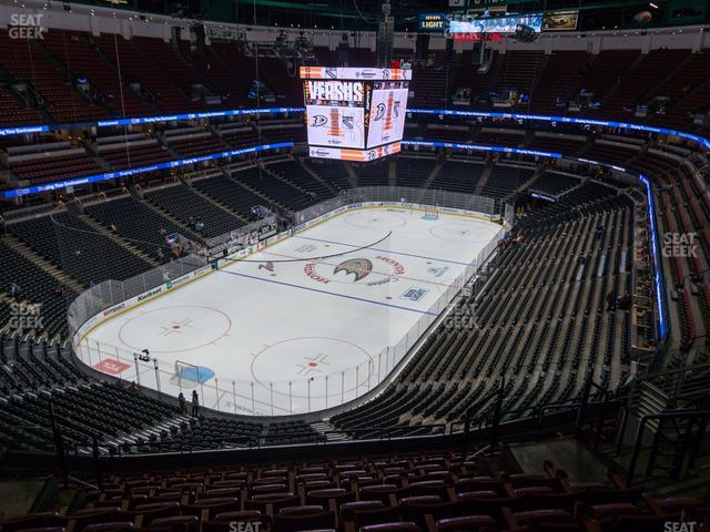 Honda Center Section 441 view