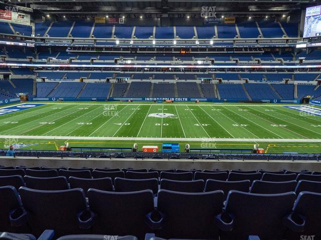 Lucas Oil Stadium Section 240 view