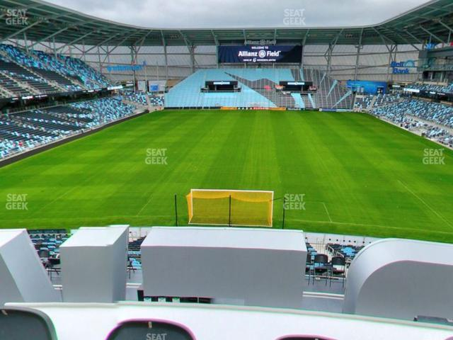 Allianz Field Section Roof Deck view