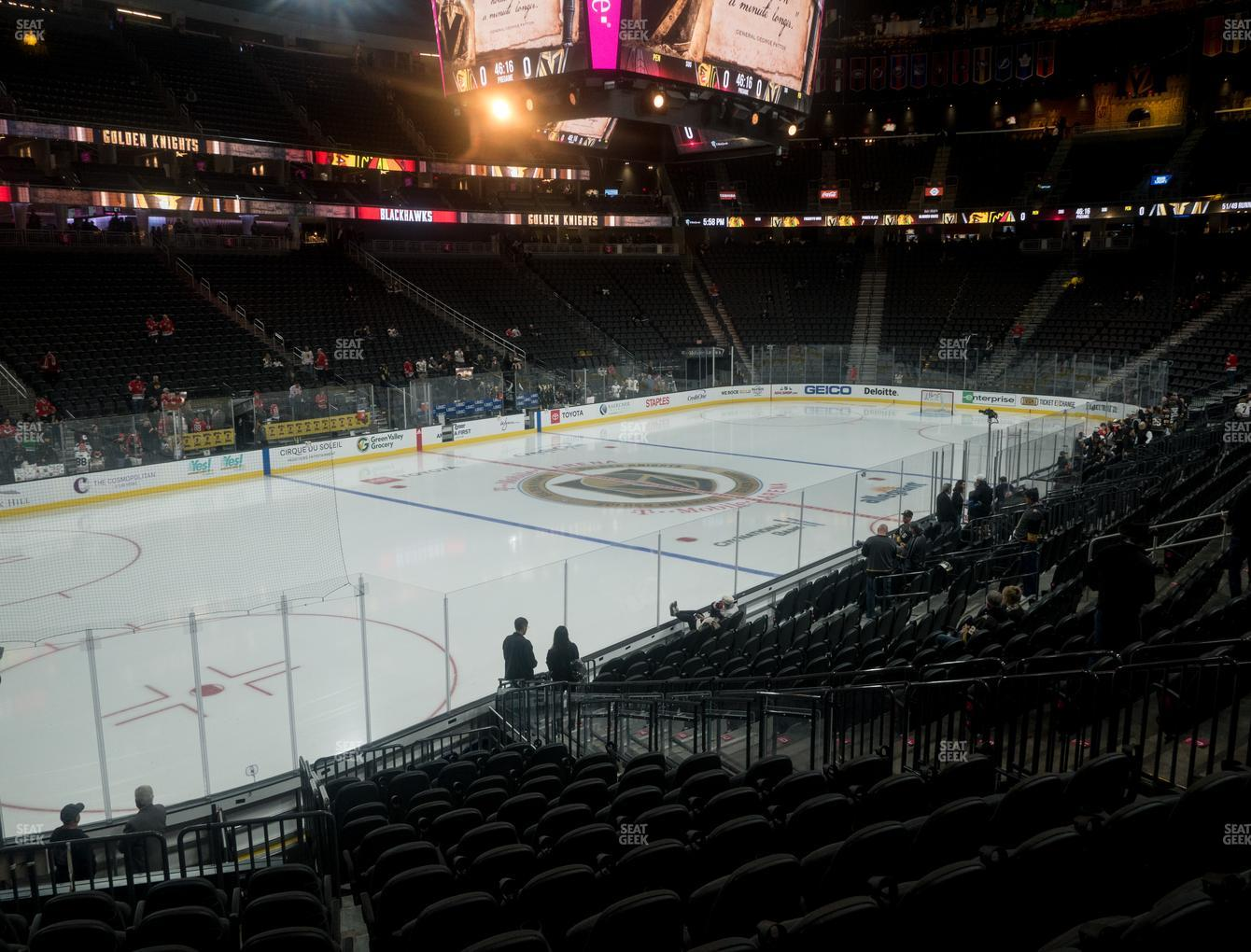 T Mobile Arena Section 13 Seat Views Seatgeek