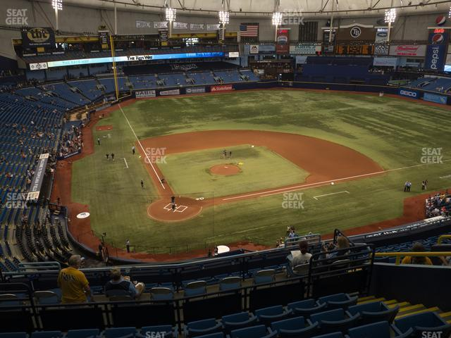 Tropicana Field Section 306 view