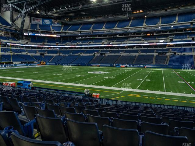 Lucas Oil Stadium Section 111 view
