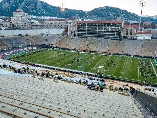 Folsom Field Section 579 view