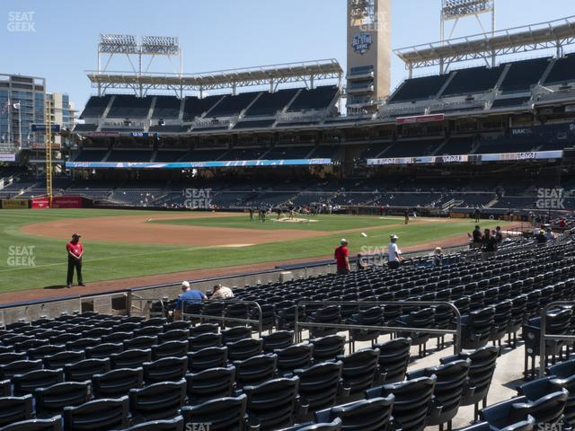 Petco Park Section 116 view