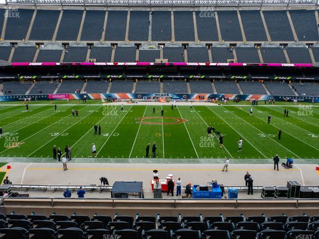Soldier Field Section 209 view