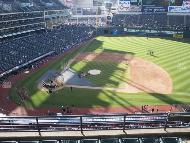Progressive Field Section 446 view