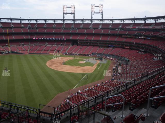 Busch Stadium Left Field Pavilion 369 view
