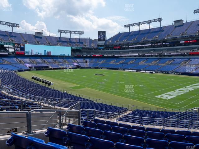M&T Bank Stadium Section 147 view