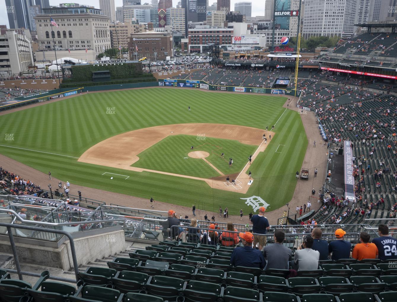 Detroit Tigers at Comerica Park Section 330 View