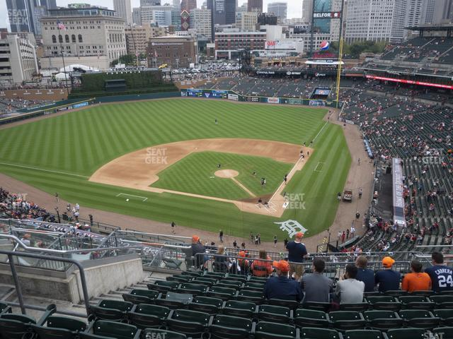 Comerica Park Section 330 view