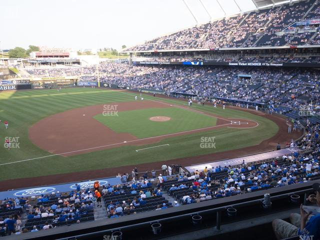 Kauffman Stadium Section 304 view