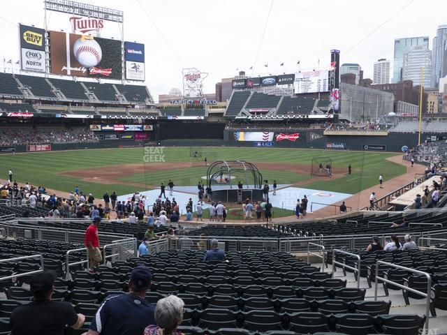 Target Field Section 115 view