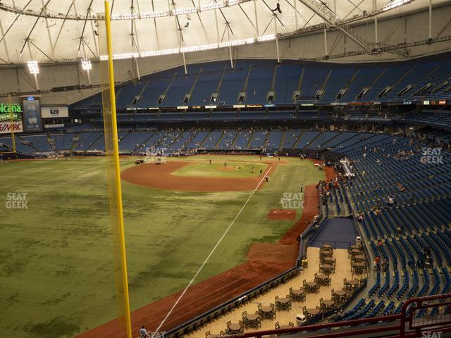 Tropicana Field Section 343 view