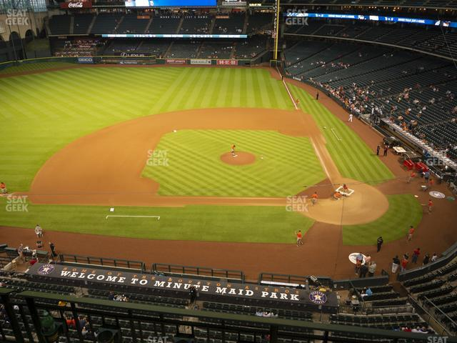 Minute Maid Park Section 314 view