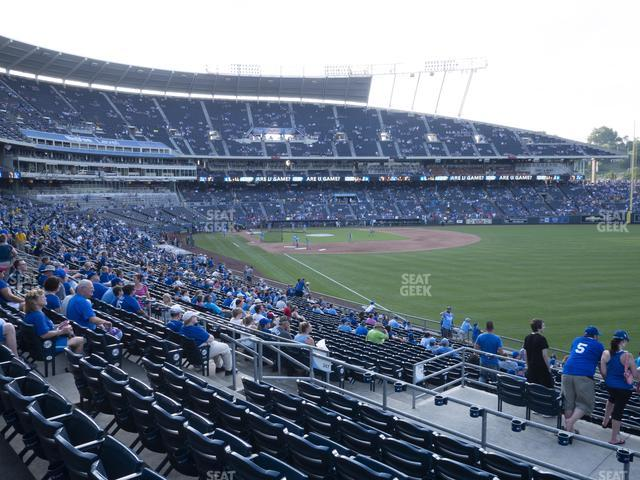 Kauffman Stadium Section 247 view