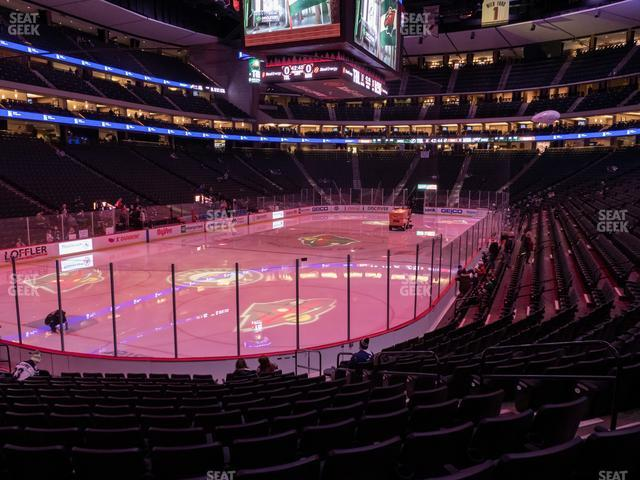 Xcel Energy Center Section 108 view