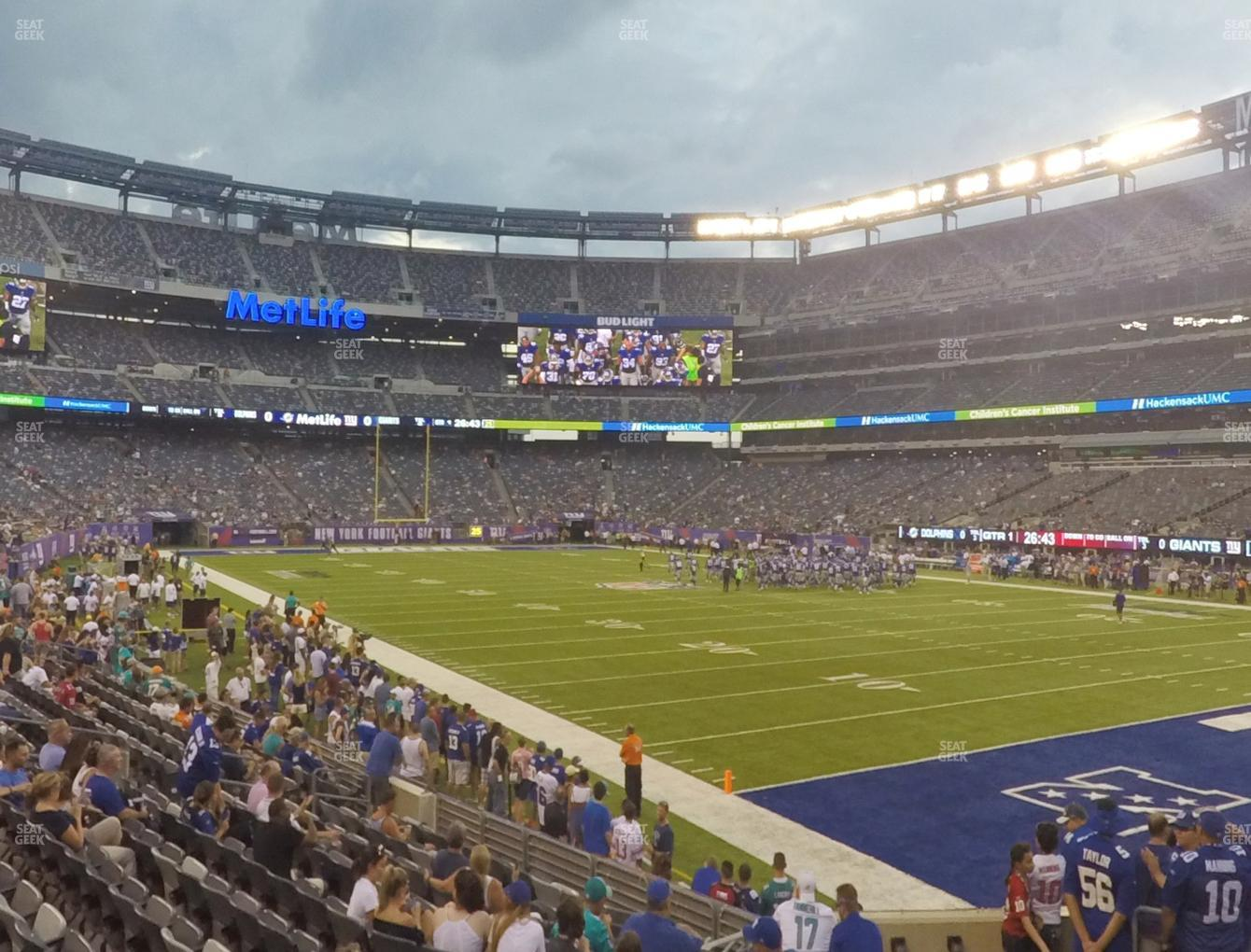51424534a15 View seating charts. New York Jets at MetLife Stadium Section 131 View ...