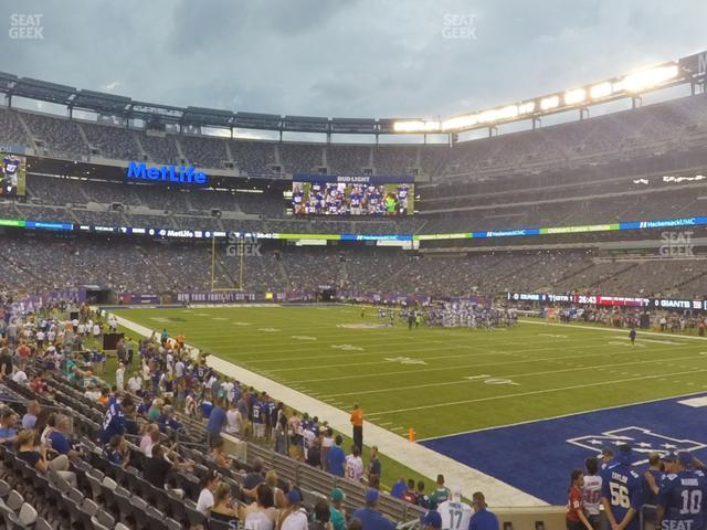 MetLife Stadium Section 131 view