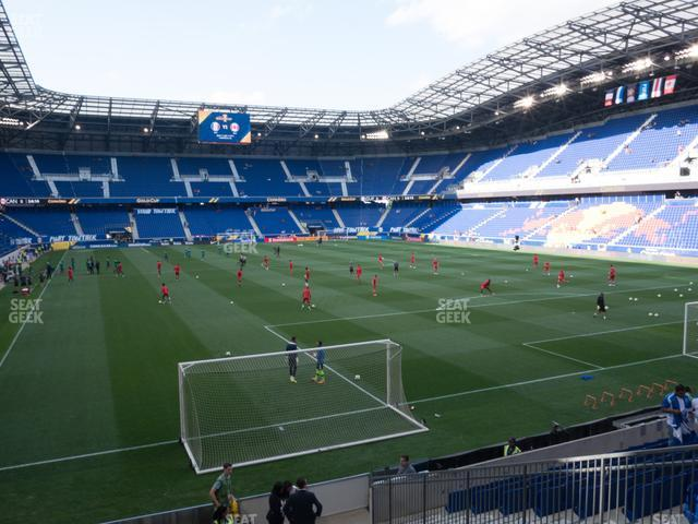 Red Bull Arena Section 103 view