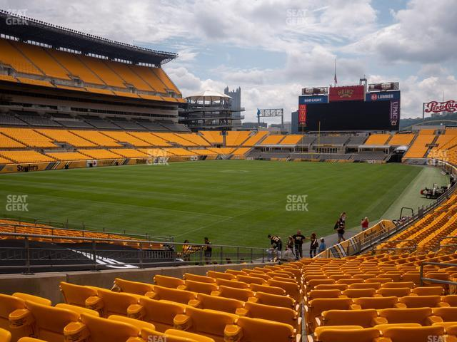 Heinz Field Section 127 view