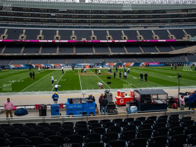 Soldier Field Section 138 view
