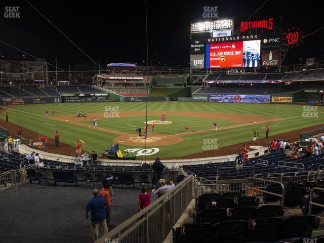 Nationals Park Section 123 view