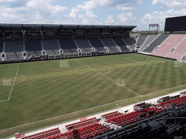 Audi Field Section 108 view