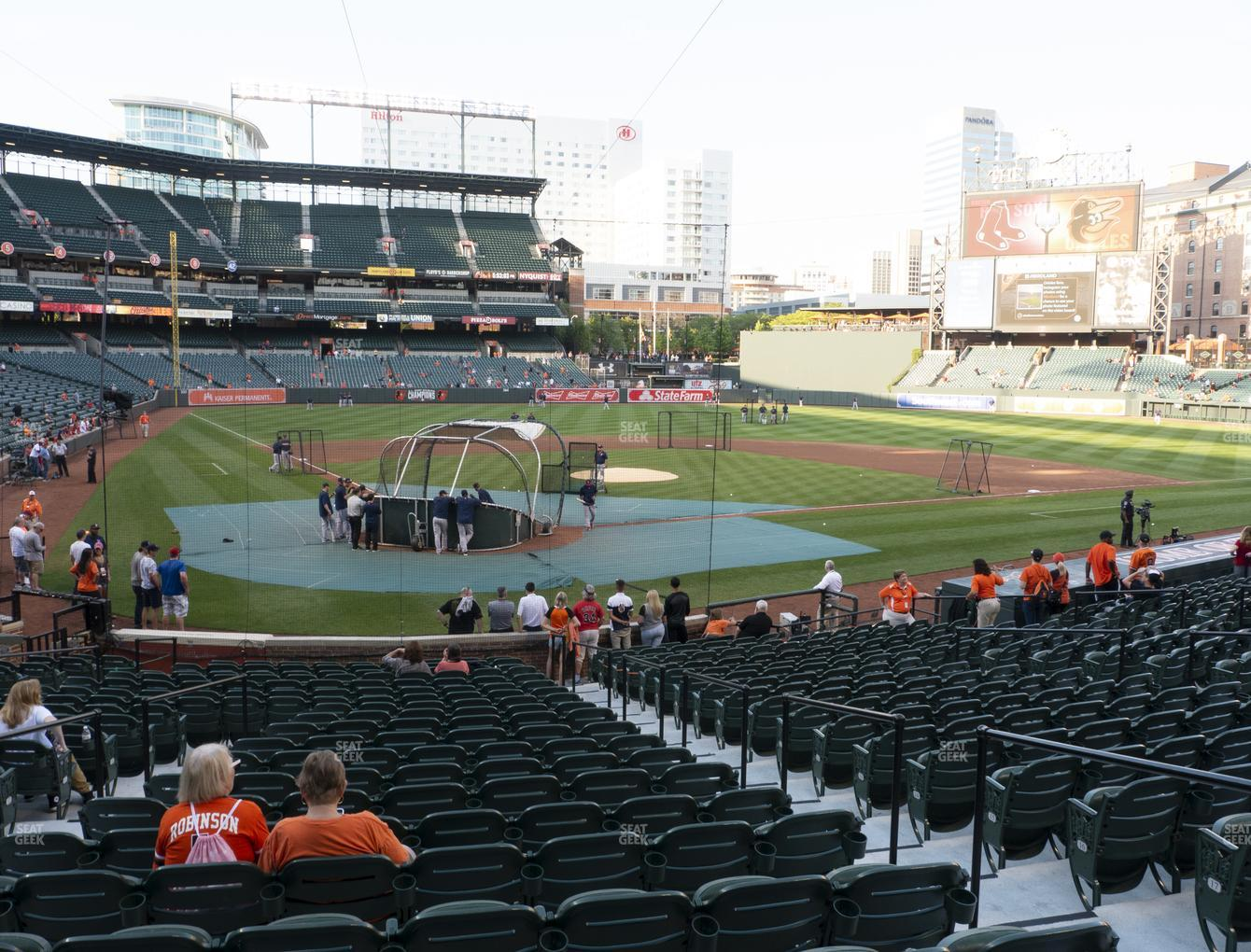Baltimore Orioles at Oriole Park at Camden Yards Section 32 View