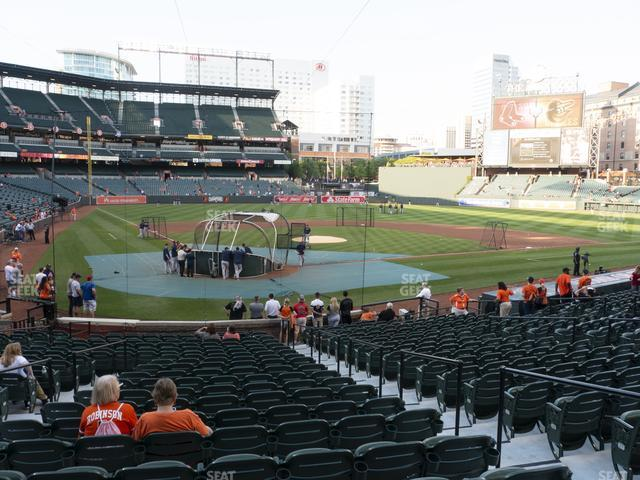 Oriole Park at Camden Yards Section 32 view