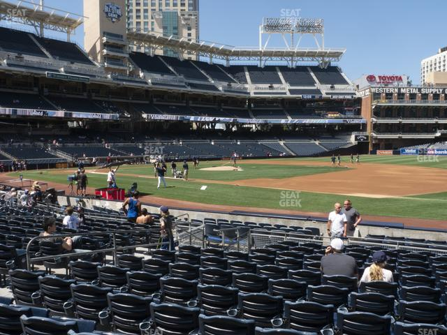 Petco Park Section 113 view