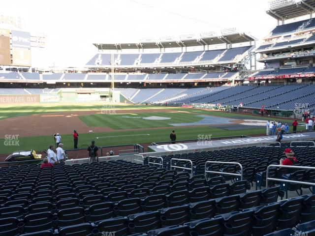 Nationals Park Section 115 view