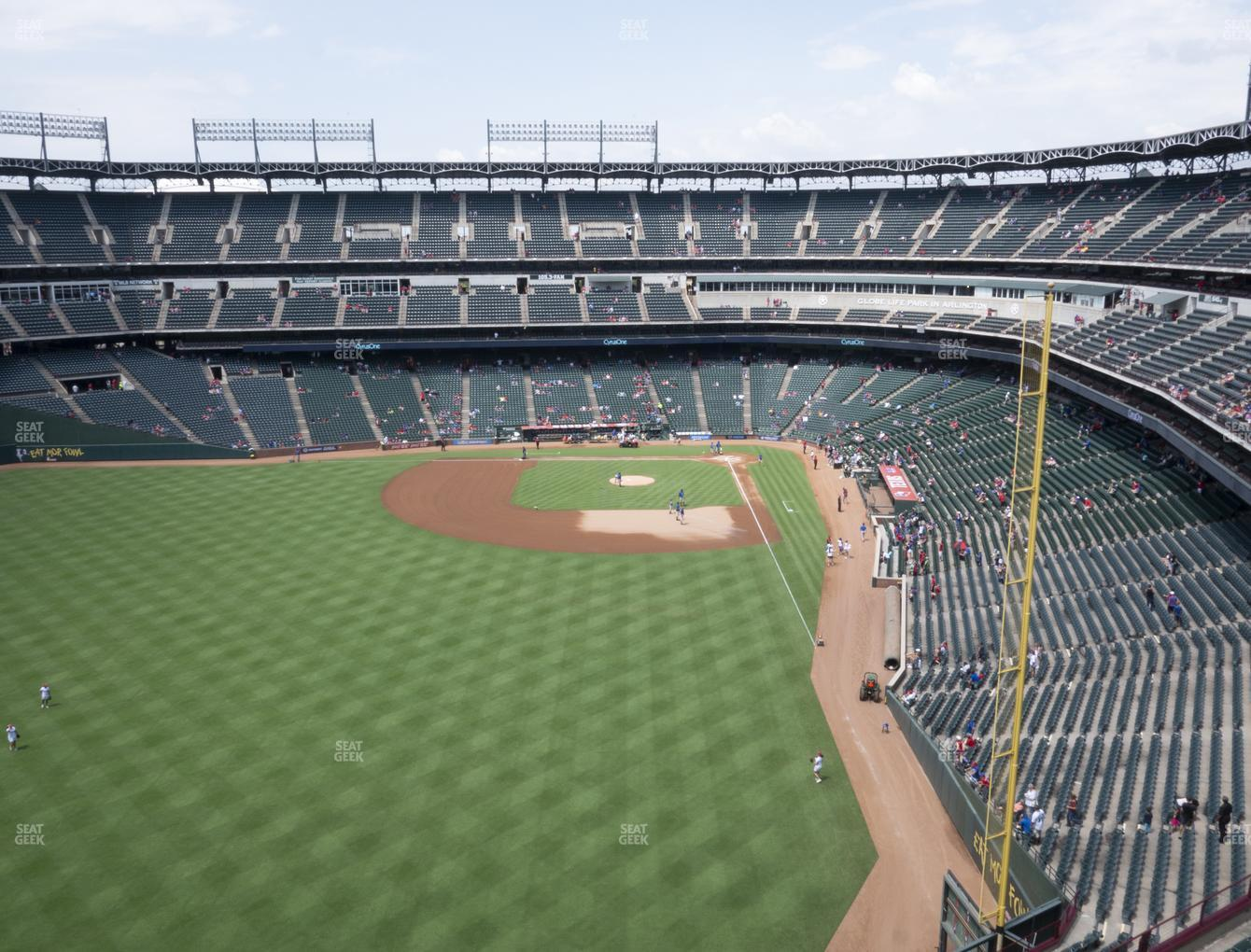 NHL at Globe Life Park Section 305 View