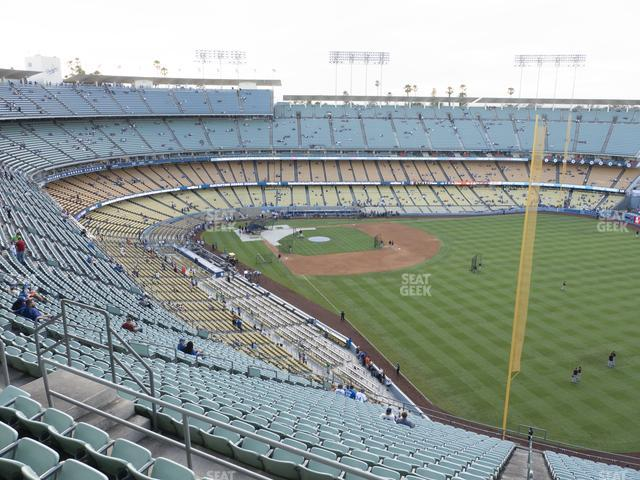 Dodger Stadium Reserve 50 view