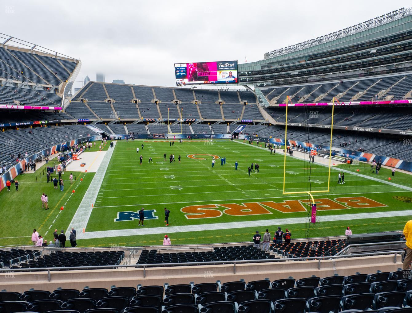 Chicago Bears at Soldier Field Section 224 View