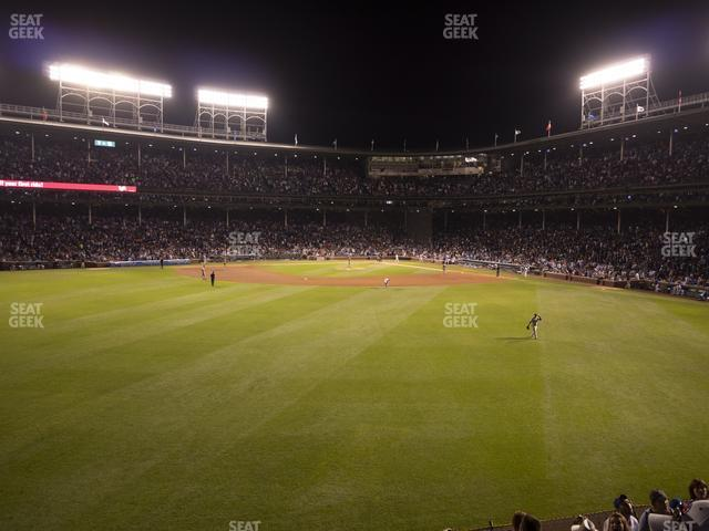Wrigley Field Budweiser Bleachers 504 view