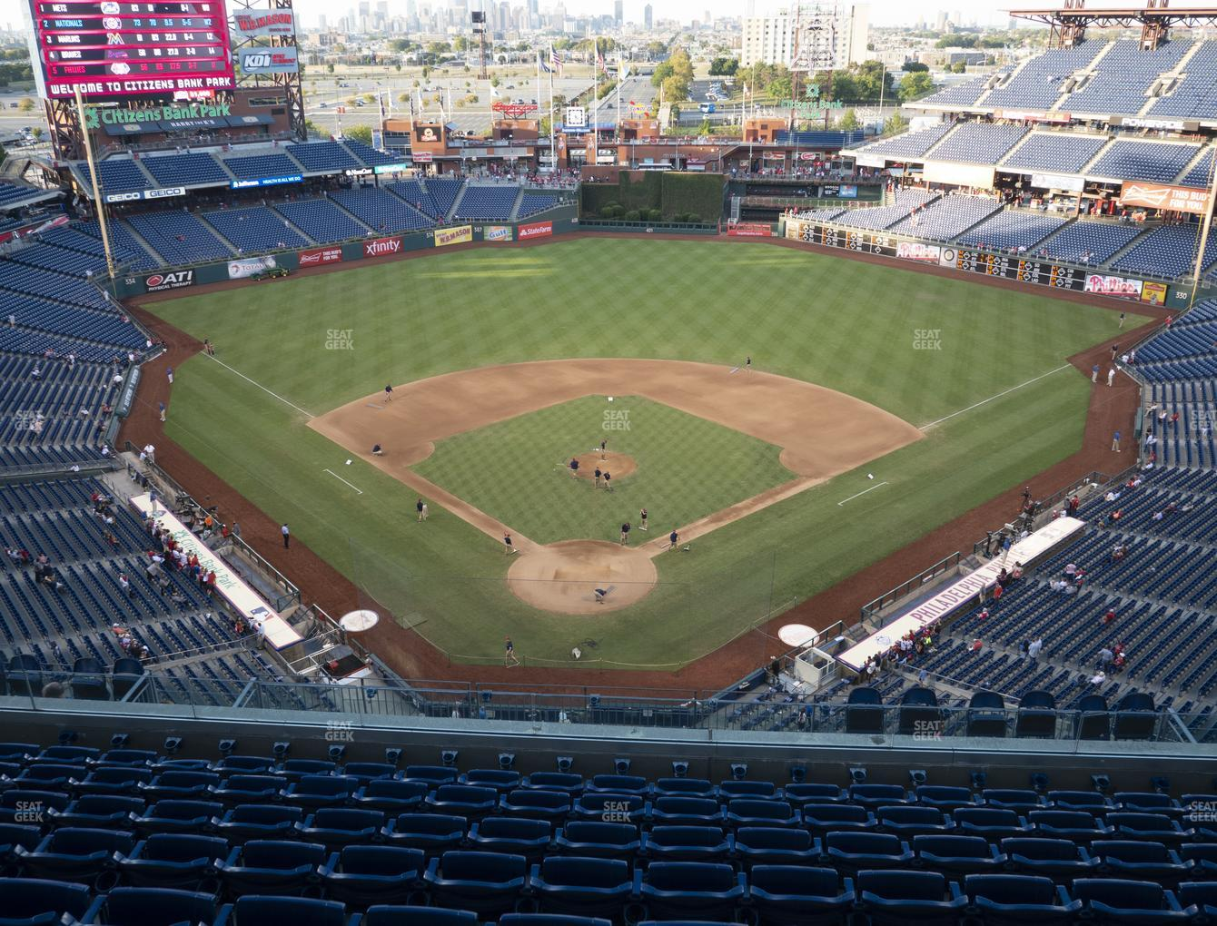 Philadelphia Phillies at Citizens Bank Park Section 420 View