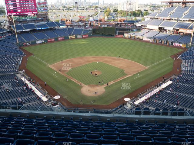 Citizens Bank Park Section 420 view