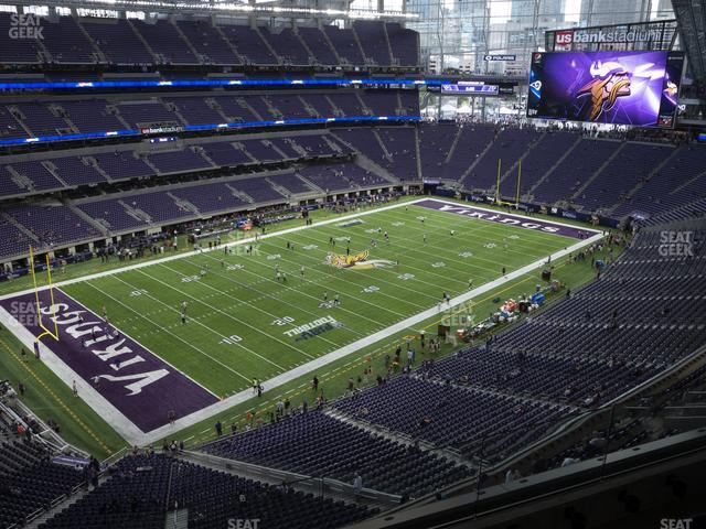 U.S. Bank Stadium Section 318 view