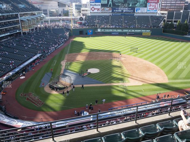Progressive Field Section 448 view