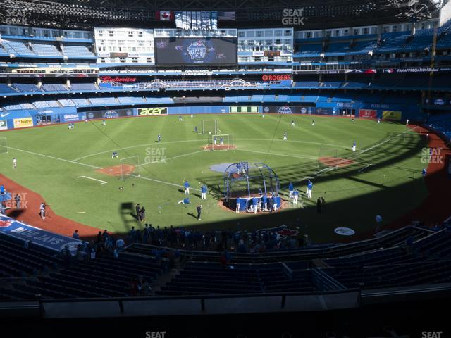 Rogers Centre TD Comfort Club 224 BR view