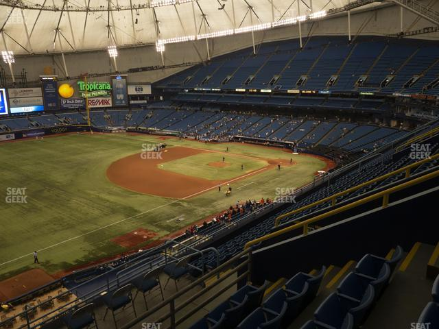 Tropicana Field Section 321 view