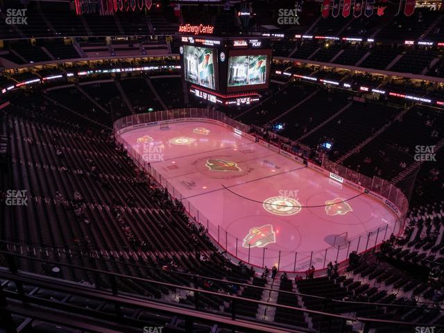 Xcel Energy Center Section 230 view