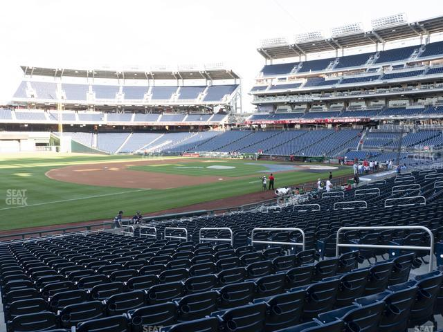 Nationals Park Section 112 view