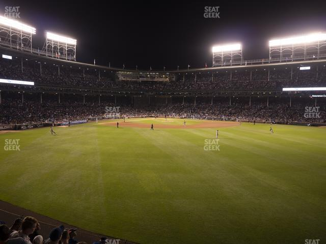 Wrigley Field Budweiser Bleachers 511 view