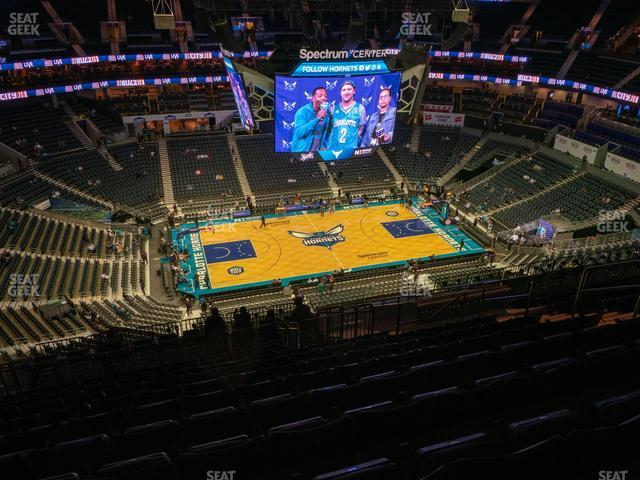 Spectrum Center Section 227 view