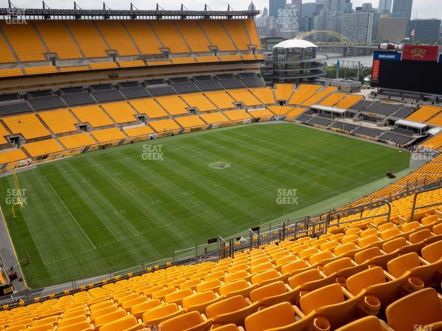 Heinz Field Section 530 view