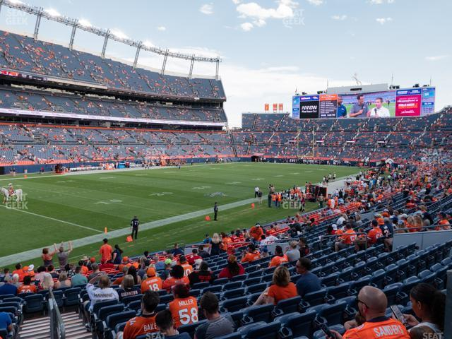 Empower Field at Mile High Section 110 view