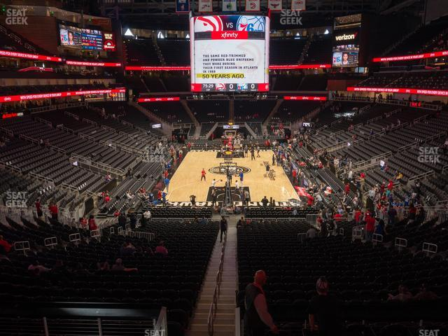 State Farm Arena Section T 5 view